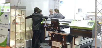 Messe Fespa 2011: Contento Digitaldruck